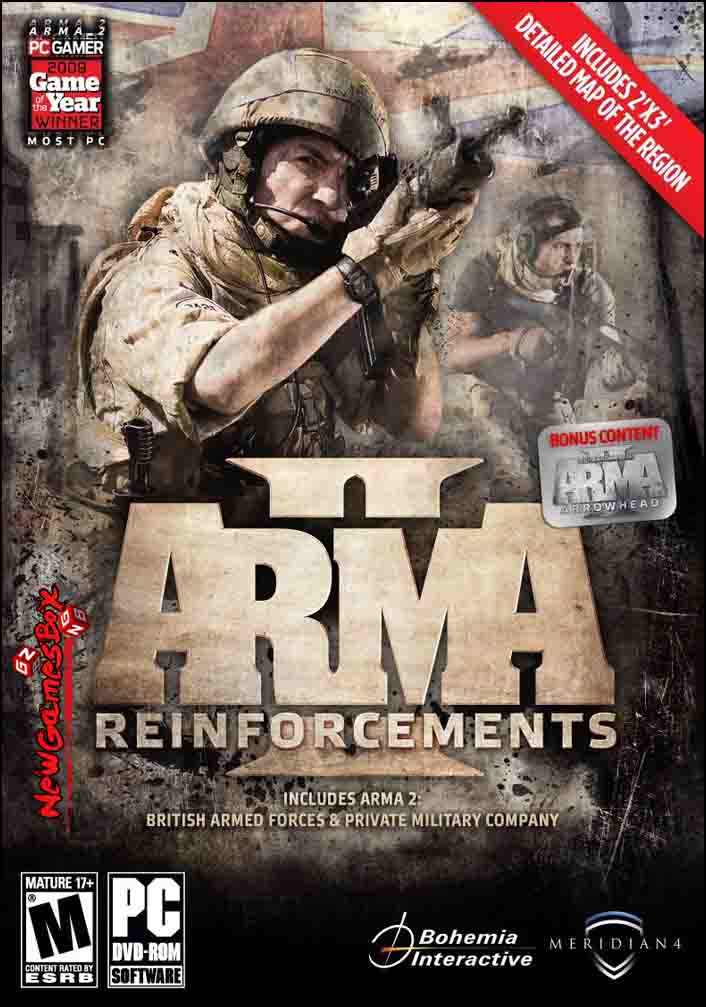 ARMA 2 Reinforcements Free Download