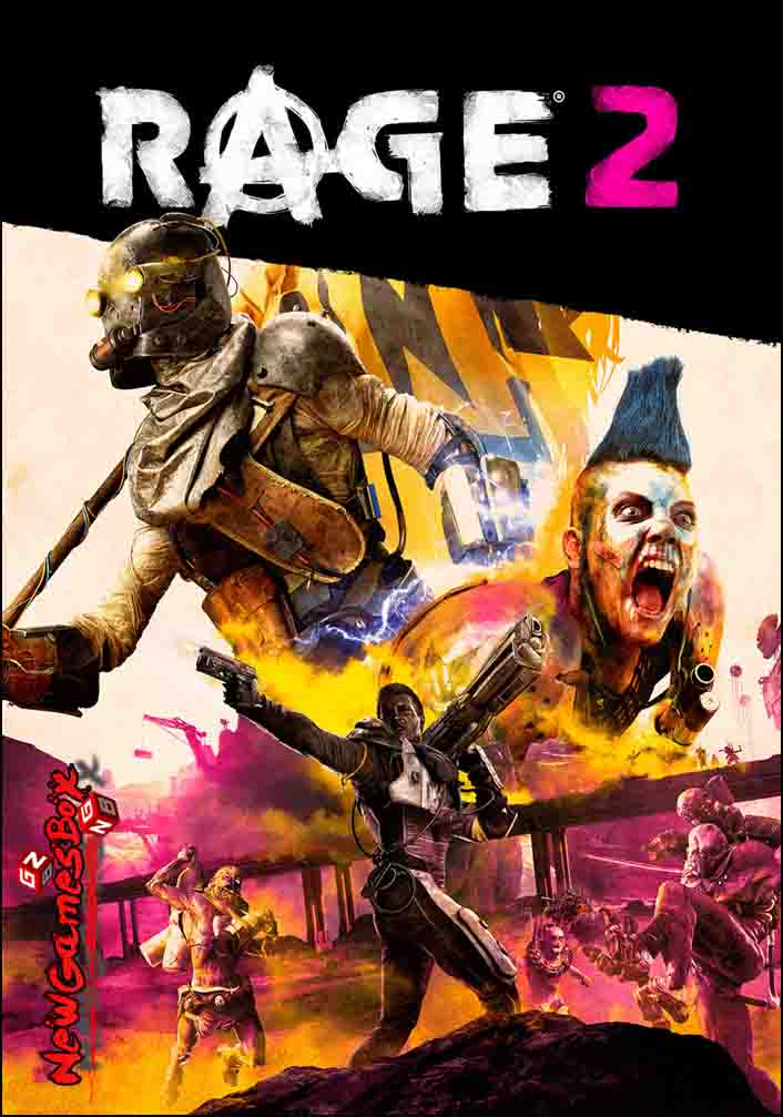 Rage 2 Free Download Full Version Crack PC Game Setup