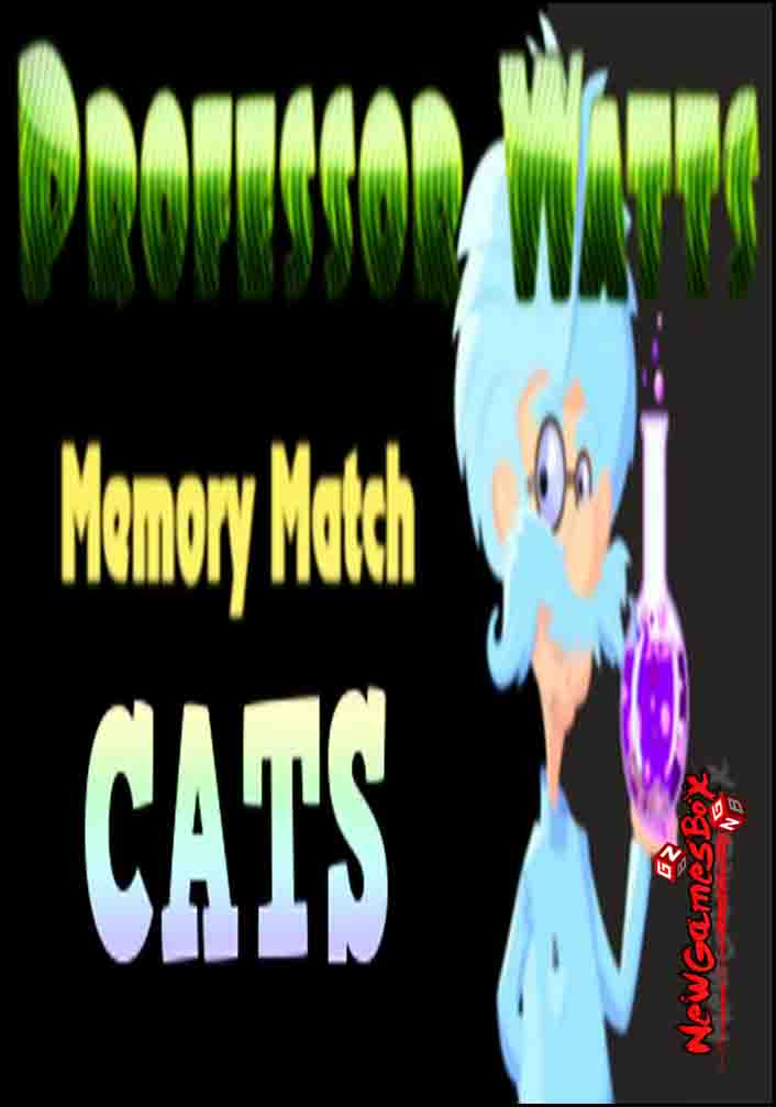 Professor Watts Memory Match Cats Free Download