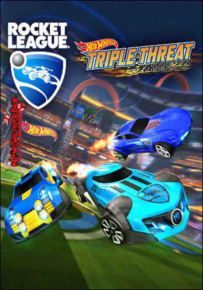 Rocket League Hot Wheels Triple Threat Free Download
