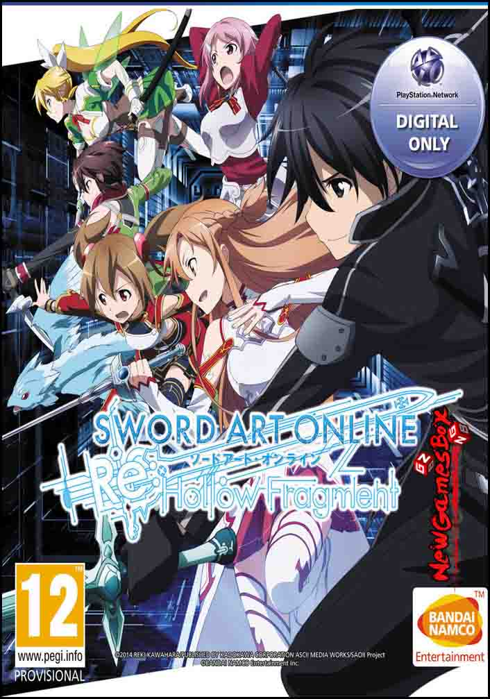 Sword Art Online Re Hollow Fragment Free Download