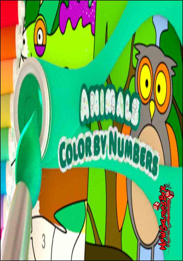 Color By Numbers Animals Free Download