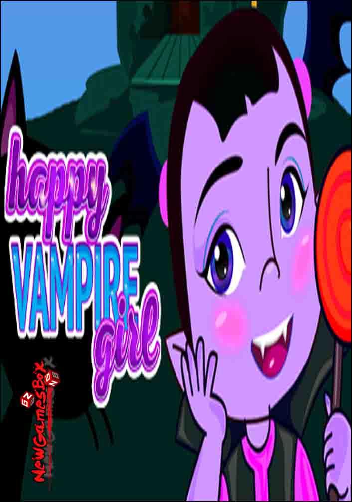 Happy Vampire Girl Free Download