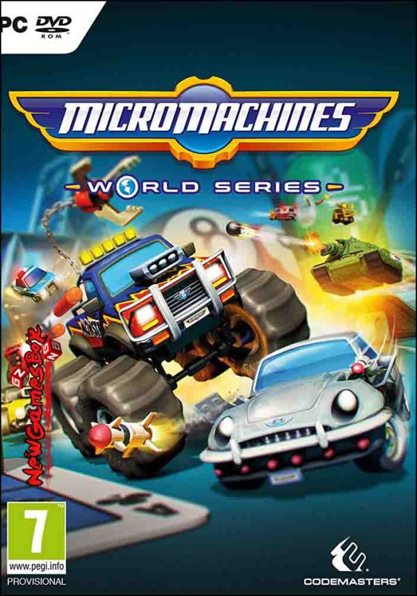 Micro Machines World Series Download PC Game