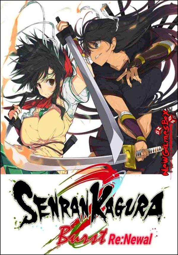 Senran Kagura Burst ReNewal Free Download