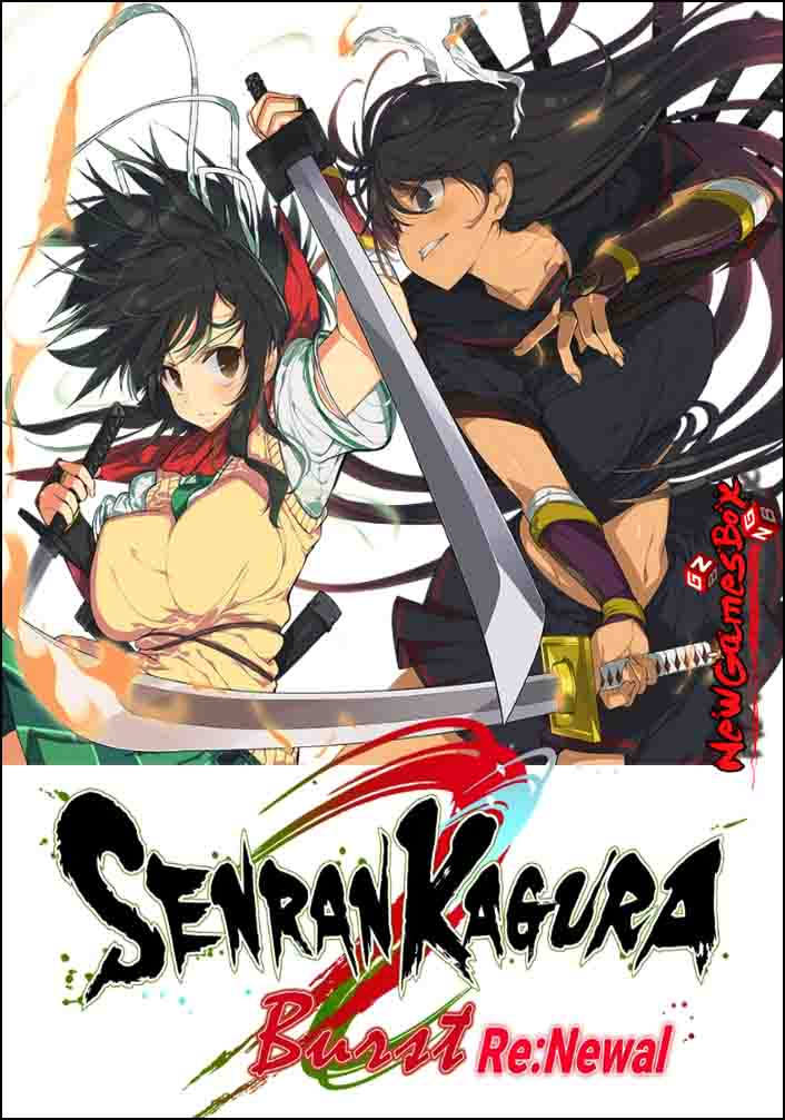 Senran Kagura Burst ReNewal Free Download