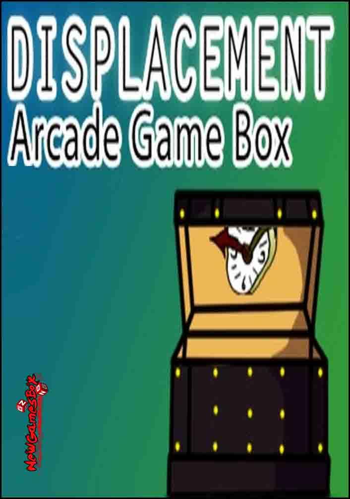 Displacement Arcade Game Box Free Download