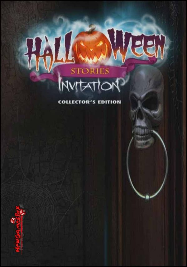 Halloween Stories Invitation Free Download