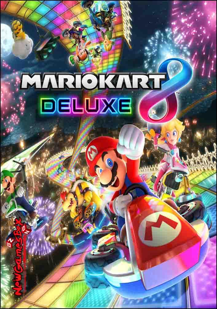 mario kart 8 deluxe free download full version pc setup