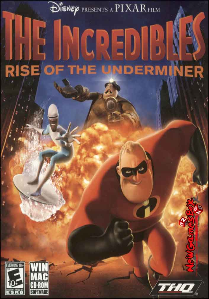 The Incredibles - PC Game Download Free Full Version