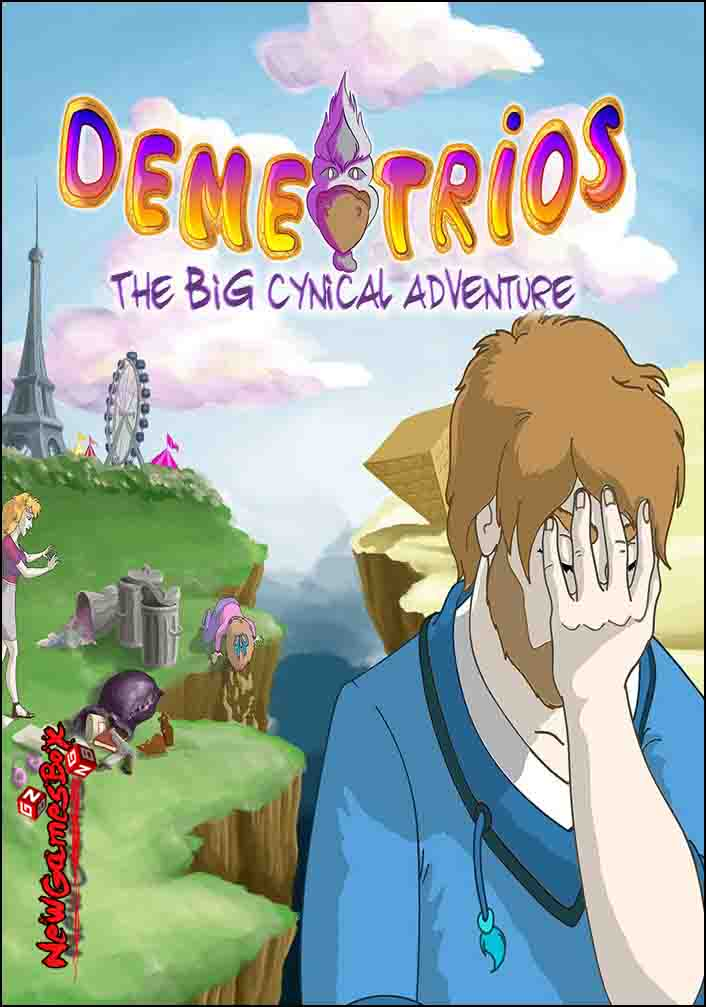Demetrios The BIG Cynical Adventure Free Download PC