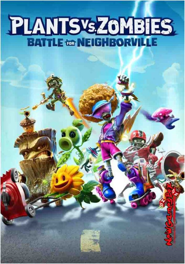 Plants VS Zombies Battle For Neighborville Free Download