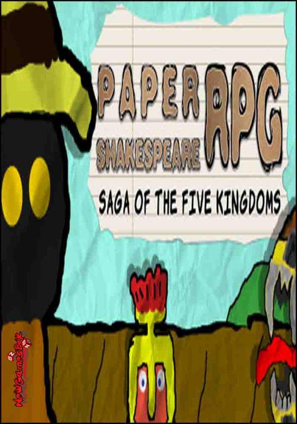 Paper Shakespeare RPG Saga Of The Five Kingdoms Free Download