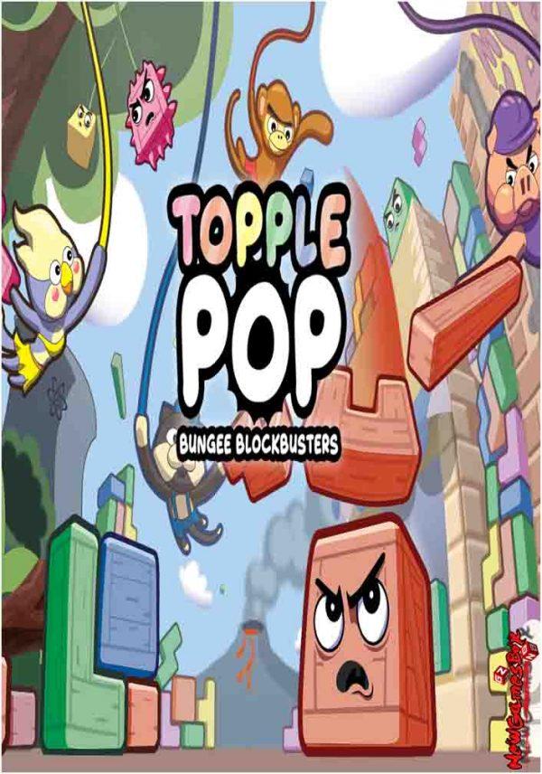 TopplePOP Bungee Blockbusters Free Download