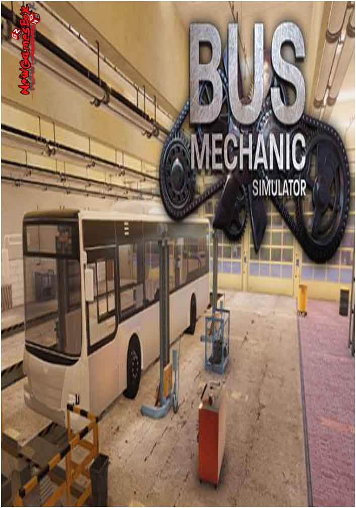 Bus Mechanic Simulator Free Download Full PC Game Setup