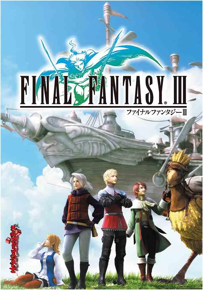 Final Fantasy 3 Free Download Full Version PC Game Setup