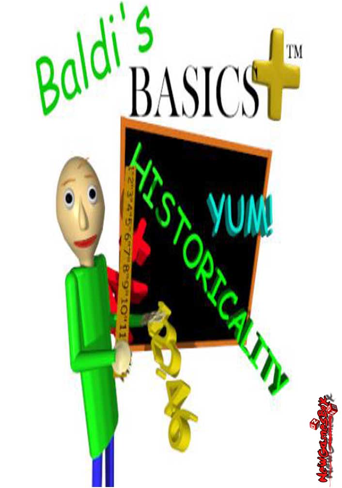 Baldis Basics Plus Free Download Full Version PC Setup