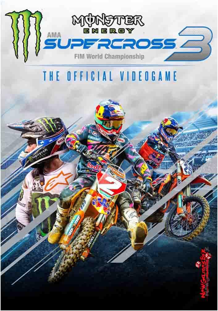 Monster Energy Supercross 3 Free Download Full PC Game