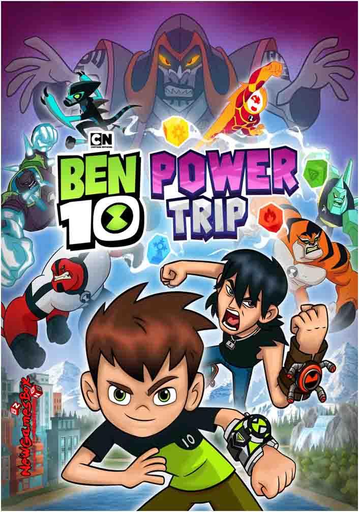 Ben 10 Power Trip Free Download PC Game Setup