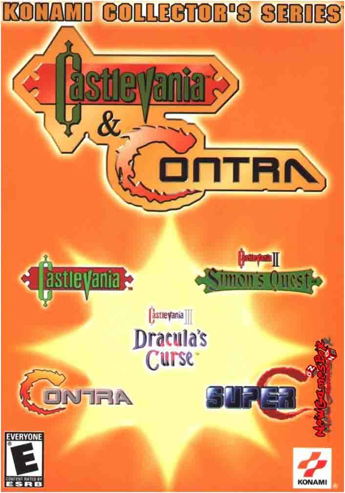 Konami Collectors Series Castlevania And Contra Free Download