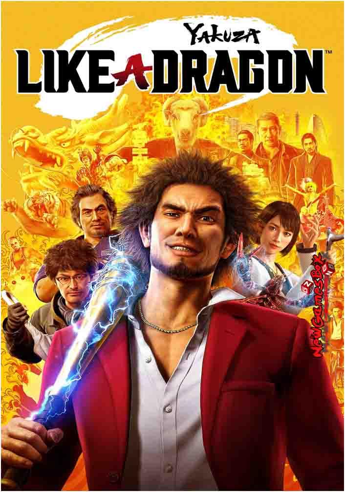 Yakuza Like A Dragon Free Download PC Game Setup
