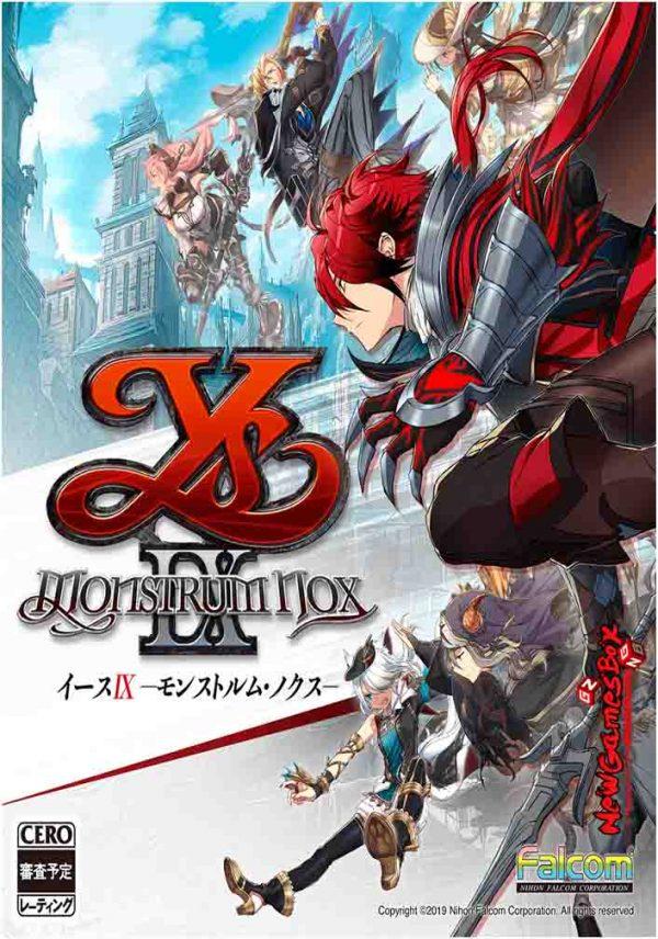Ys IX Monstrum Nox Free Download Full PC Game Setup