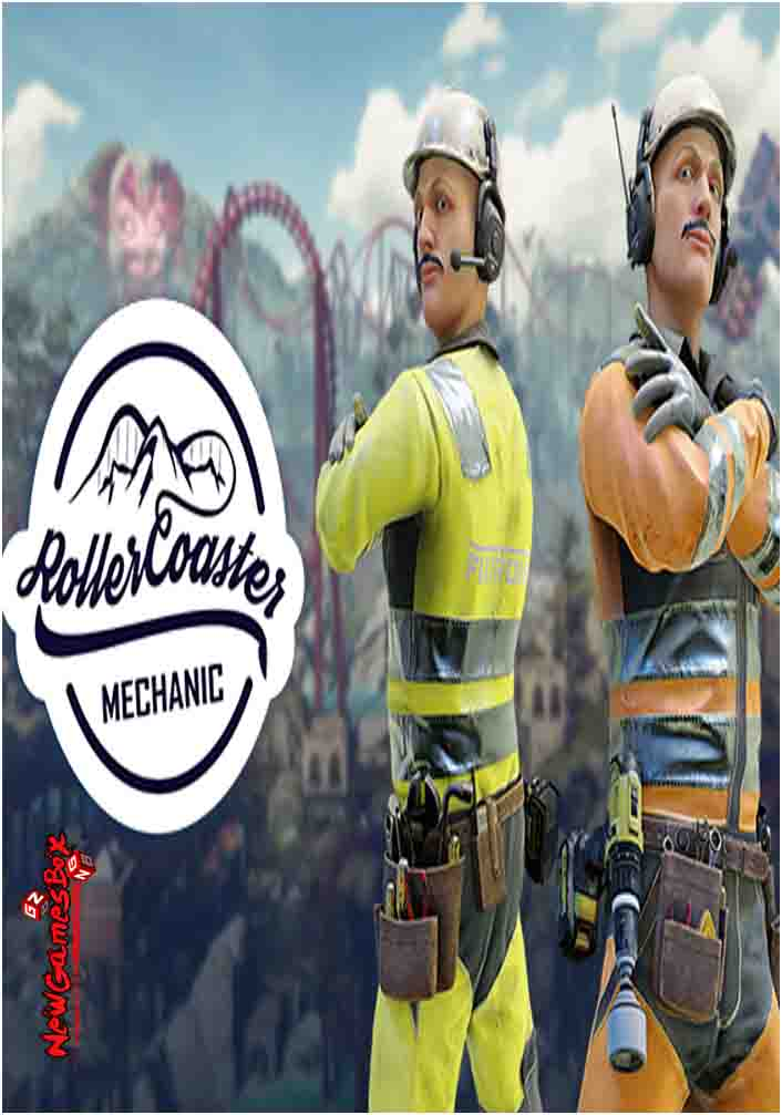 Rollercoaster Mechanic Free Download PC Game Setup